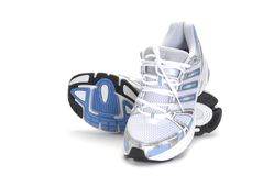 Laufende Schuhe Lizenzfreies Stockbild
