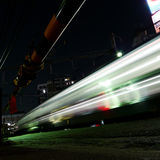 Laufende Serie nachts, Tokyo Stockfotos