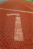 Laufende Spur Stockfoto