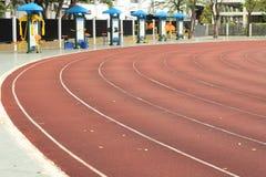 Laufende Spur u. im Freiengymnastik Lizenzfreie Stockfotos