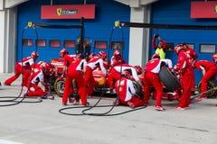 Laufende Tage Ferraris stockbilder