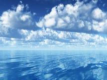Laufende Wolken Stockfotos