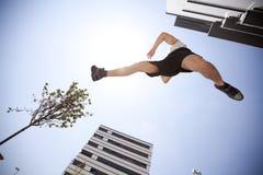 Laufender Athlet lizenzfreies stockbild