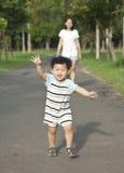 Laufender Junge Stockbilder