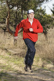 Laufender Mann stockbild
