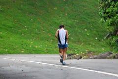 Laufender Wettbewerb lizenzfreies stockbild