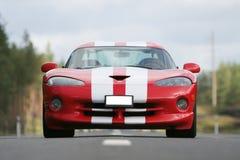 Laufendes Auto Lizenzfreies Stockbild