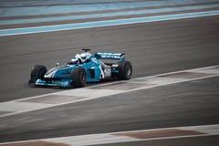 Laufendes Auto der Formel-1 Stockfoto