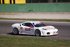 Laufendes Auto in der Sammlung von Monza Stockfoto