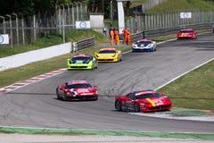 Laufendes Auto in der Sammlung von Monza Lizenzfreies Stockbild