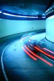 Laufendes Auto der Straße Lizenzfreie Stockbilder