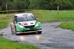 Laufendes Auto-Kerl Wilks Stockfoto