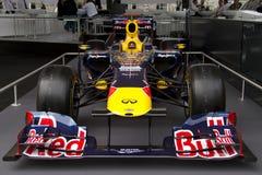 Laufendes Auto Red Bull-RB7 F1 Lizenzfreies Stockbild