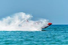 Laufendes Boot stockbild