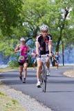 Laufendes Ereignis Coeur-d Alene Ironman Lizenzfreies Stockfoto