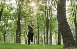 Laufendes Mädchen Lizenzfreie Stockbilder