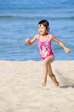 Laufendes Mädchen Lizenzfreies Stockfoto