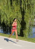 Laufendes Mädchen Stockfotografie
