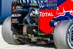 Laufendes Red Bull, SebastiAn Vettle, 2013 Lizenzfreie Stockbilder