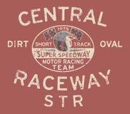 Laufendes Team der Speedway stock abbildung