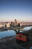 Laufkatze in Pittsburgh Stockfotos