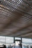Laufstücke am Flughafen Stockbild