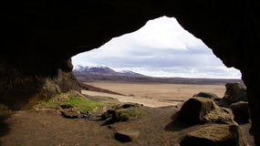 Laugarvatnshellar cave in Iceland Royalty Free Stock Photos