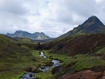 Laugavegur, Islanda Immagine Stock