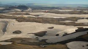 Laugavegur-Spur verlängert auf Skogar Stockbild