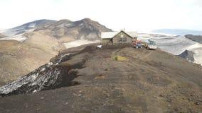 Laugavegur-Spur verlängert auf Skogar Stockfotos