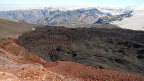 Laugavegur-Spur verlängert auf Skogar Lizenzfreies Stockbild