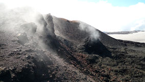 Laugavegur trail extended to Skogar Royalty Free Stock Photo