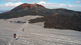 Laugavegur trail extended to Skogar Royalty Free Stock Images