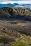 Laugavegur trail. Mountains near Alftavatn on the Laugavegur trail - Landmannalaugar - Iceland Stock Photography