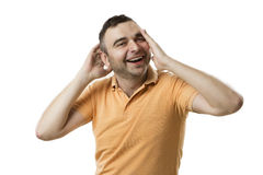 Laugh comedian Royalty Free Stock Photos