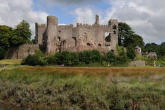 Laugharne Castle Royalty Free Stock Image