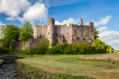 Laugharne Castle Wales Stock Image