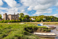 Laugharne Castle Wales Royalty Free Stock Image