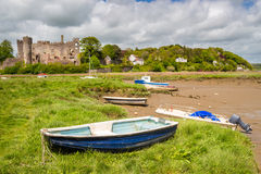 Laugharne Castle Wales Royalty Free Stock Photography