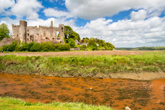 Laugharne Castle Wales Royalty Free Stock Photos