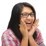 Laughing Royalty Free Stock Photography