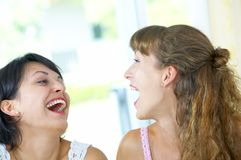 Laughing Royalty Free Stock Photos
