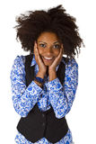 Laughing african american woman Stock Photography