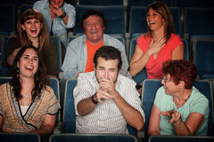 Free Laughing Audience Stock Photography - 23102412