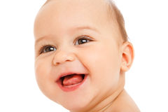 Laughing baby Royalty Free Stock Photography