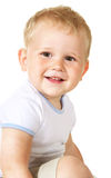 Laughing baby boy Stock Photography