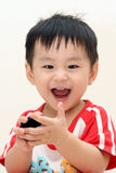 Laughing Baby Boy Stock Photo