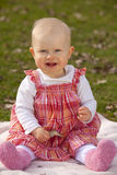 Laughing baby girl Stock Image