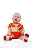 Laughing baby girl Stock Image