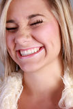 Laughing beauty Royalty Free Stock Photos